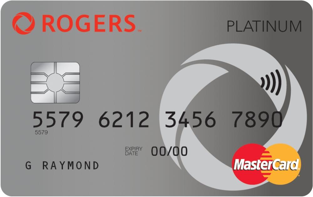 carte de crédit Rogers Platinum MasterCard